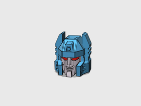Twin-Cockpit Dueller's Face IDW G1 style in Smooth Fine Detail Plastic