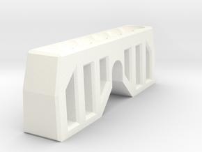 MPP2.0 - ClampInsert in White Processed Versatile Plastic