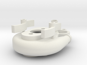 MODEL BOAT ENGINE COOLING WATER PUMP in White Natural Versatile Plastic