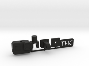 1:8 scale HERO 5 KIT in Black Natural Versatile Plastic: 1:8