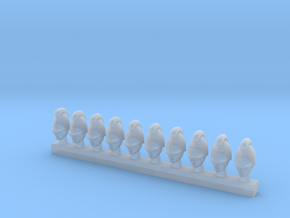 10 x Baden Infantry (28mm) in Smooth Fine Detail Plastic