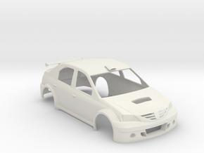 DACIA LOGAN S2000  1:24 in White Strong & Flexible