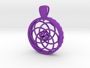 FlexPendant For Beads in Purple Processed Versatile Plastic