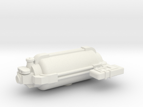 Omni Scale General Small Freighter w/Short Pod SRZ in White Natural Versatile Plastic