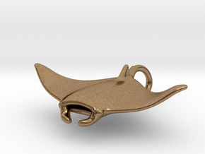 Manta RingTail in Natural Brass