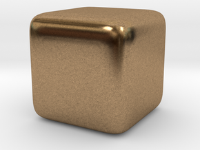 justCube in Natural Brass