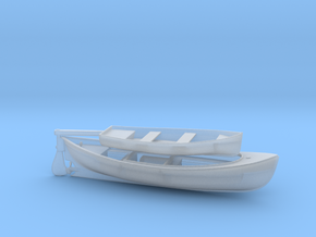 1/172 USN 26-foot Motor Whaleboat &Dinghy in Smooth Fine Detail Plastic