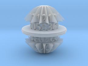 d30 egg spool die in Smooth Fine Detail Plastic