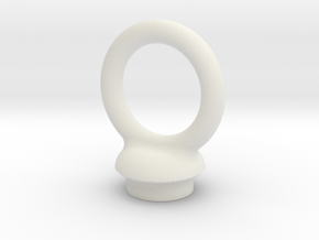 Torus Pommel in White Natural Versatile Plastic