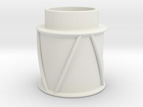 Snare in White Natural Versatile Plastic