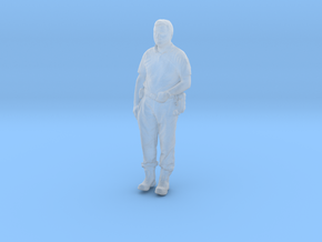 Printle C Homme 833 - 1/87 - wob in Smooth Fine Detail Plastic