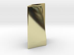 Blade Emitter in 18k Gold