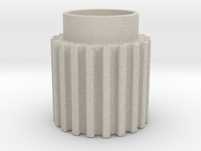 Chamfer Tooth Gear in Natural Sandstone