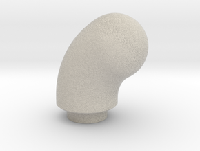 Curved Pommel in Natural Sandstone