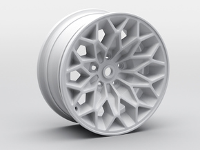 1:10 RC D52 Snowflake Rim in White Strong & Flexible