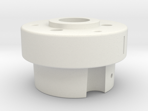 Alfa Romeo: Bosch Distributor Adaptor to AEM EPM in White Natural Versatile Plastic