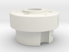 Alfa Romeo: Bosch Distributor Adaptor to AEM EPM in White Natural Versatile Plastic
