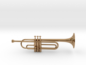 Trumpet Pendant in Polished Brass