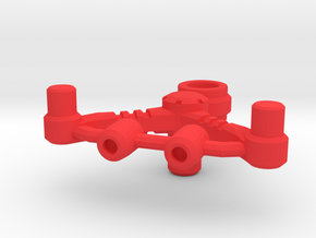 Energy bow adaptor for MMC Calidus, Bow & 1 rifle in Red Processed Versatile Plastic