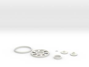 fidget in White Natural Versatile Plastic