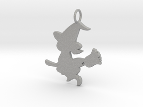 Cartoon Witch Cute Halloween Pendant Charm in Aluminum