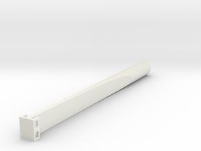 "Saflex Large - 1/2"" Socket in White Natural Versatile Plastic"