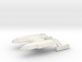 3125 Scale LDR Heavy Cruiser (CA) CVN in White Strong & Flexible