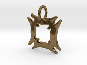 Hafinkra- Safety and Security Charms (individual) in Natural Bronze