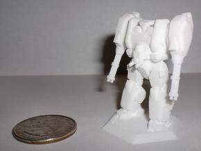 Mecha- Hunter (1/285th) in White Natural Versatile Plastic