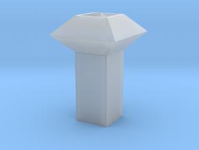 Dachlüfter 2 modern 1:120 in Smooth Fine Detail Plastic