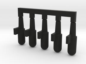 WE 1911 BB follower 5x in Black Natural Versatile Plastic