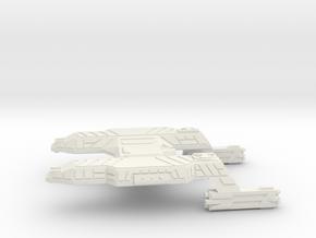 3125 Scale Lyran Tiger Heavy Cruiser (CA) CVN in White Natural Versatile Plastic