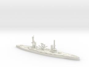 Rivadavia 1/700 (No Turrets) in White Natural Versatile Plastic
