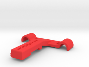 Di2 Seat Rail Mount in Red Processed Versatile Plastic