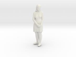 Printle C Femme 085 - 1/32 - wob in White Natural Versatile Plastic