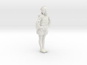 Printle C Femme 191 - 1/32 - wob in White Natural Versatile Plastic