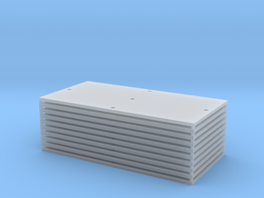 Trench Plate - 8'x16' (10) in Smooth Fine Detail Plastic