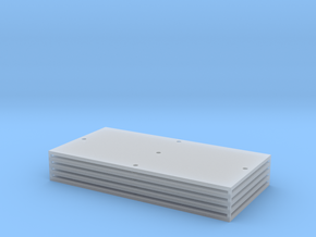 Trench Plate - 8'x16' (5) in Smooth Fine Detail Plastic