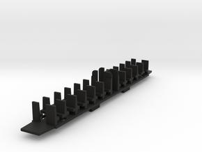 VOI038b  N-SNCB TYPE K2 B Planchers - 170723 in Black Strong & Flexible