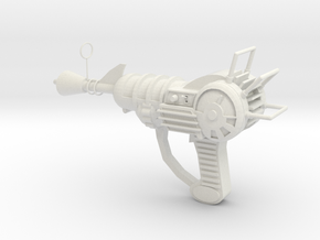 railgun in White Natural Versatile Plastic