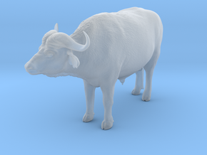 Cape Buffalo 1:32 Standing Male 1 in Smooth Fine Detail Plastic