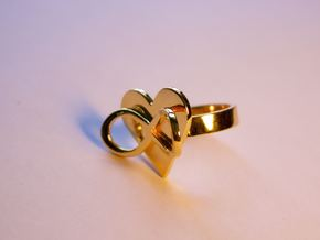 AMOUR in 14k gold plated in 14k Gold Plated Brass: 7 / 54