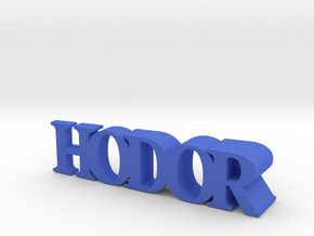 Hodor Door Stopper in Blue Strong & Flexible Polished