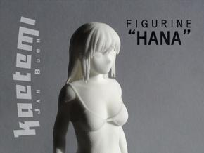 "Figurine ""Hana"" (17cm)  in White Natural Versatile Plastic"