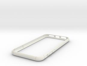 Slim Bumper for iPhone 7  in White Natural Versatile Plastic