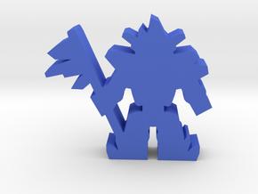 Game Piece, Crystal Alien Brute in Blue Processed Versatile Plastic