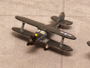 Beech UC-43 Traveler (with landing gear) 1/285 6mm in White Strong & Flexible