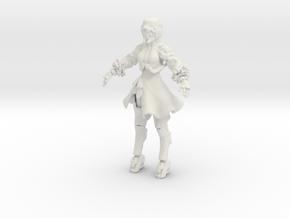 Printle C Femme 519 - 1/32 - wob in White Natural Versatile Plastic