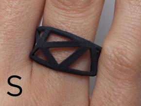 Comion ring small in Black Natural Versatile Plastic