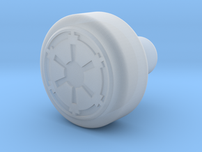 Galactic Empire Recharge Port Key in Smooth Fine Detail Plastic